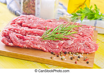 minced meat