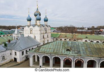 Rostov Kremlin in Rostov Velikiy, Russia