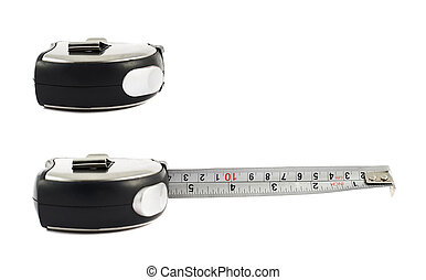 Tape measure ruler isolated