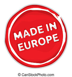 Made In The EU Stamp