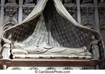 Medieval and Renaissance wall tombs in Santi Giovanni e...