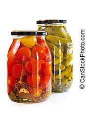 Jarros, pickles