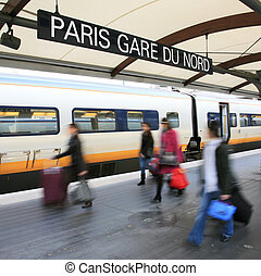 Paris North Station - Gare du Nord - Paris North Station,...
