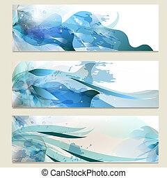 Abstract business vector cards set for design - Vector set...
