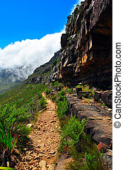 Table MOuntain Hike Trail - Cape Town South Africa