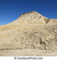 Land formation in Death Valley - Land formation in Death...