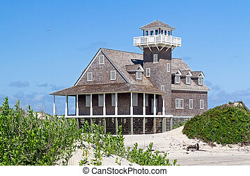 Oregon Inlet Life Saving Station - The restored Oregon Inlet...