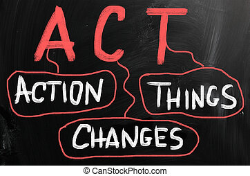 Action Changes Things.