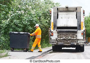 reciclagem, desperdício, Lixo