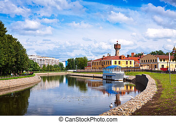 historical district in Ivanovo - View of historical district...