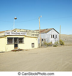 Old trading post.