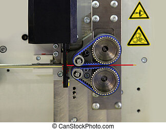 Machine for cutting of wire