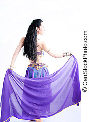 belly dancer - exotic young belly dancer, oriental dance...