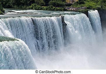 Niagara Falls - American Falls and Bridal Veil Falls