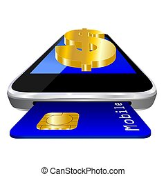 mobile payment - Dollar