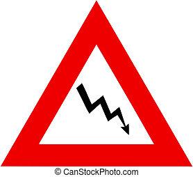 crisis warning sign