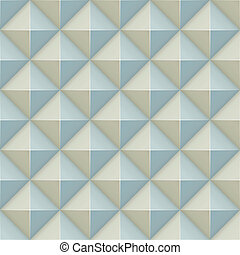 Pyramid relief surface seamless pattern.