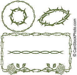 Thorn Collection - Thorn themed clip art collection