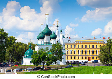 Church of Our Saviour on the Town in Yaroslavl - Church of...