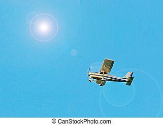ultralight airplane