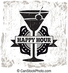 cocktails design over white background vector illustration