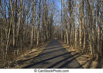 Henry Hudson Trail - A portion of the 22 mile long Henry...