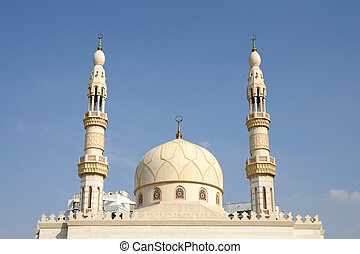 Mosque in Dubai city, United Arab Emirates