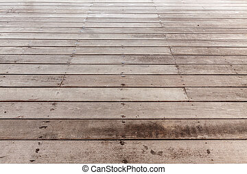 Perspective brown wood floor striped seamless