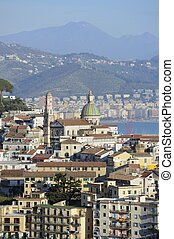 cathedral of Vietri sul Mare - overview of Vietri sul Mare...