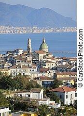cathedral of Vietri sul Mare - overview of Vietri sul Mare...