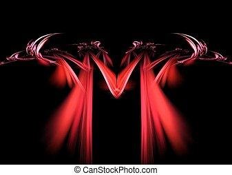 Lust-7th Deadly Sin - Fractal Design Image Symbol