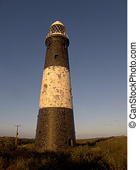 Spurn Point lighthouse, East Yorkshire, November 2011
