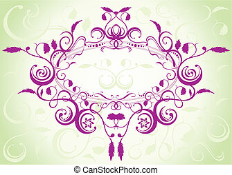 Floral_Pattern_Design - Vector file of floral pattern design...