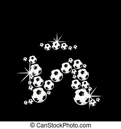 Soccer, football alphabet letter ?