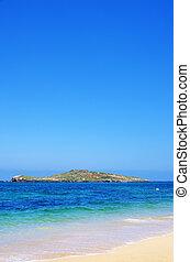 Beach of Pessegueiro island, Portugal