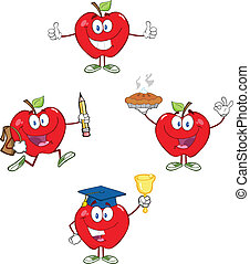 Red Apples Characters 2 Collection