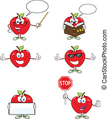 Red Apples Characters 1 Collection
