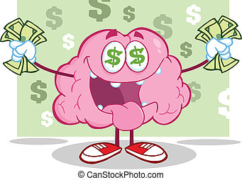 Brain Character Money Loving