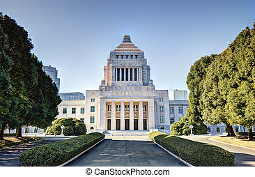 Japanese Diet House - The National Diet House of Japan.