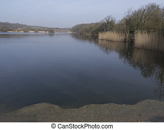 Cosmeston Lake Country Park, Glamorgan, Wales, March 2012