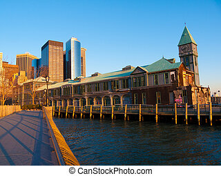 Pier 1 - part of the famous Pier One in NYC