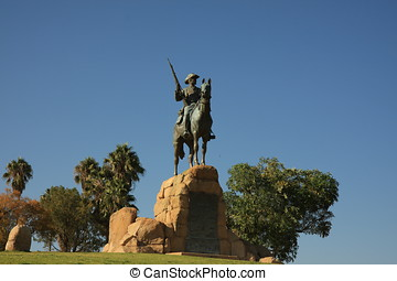 Windhoek Namibia - monument of windhoek
