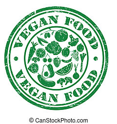 Vegan food stamp