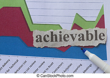 achievable - Achievable with graph abstract on success and...