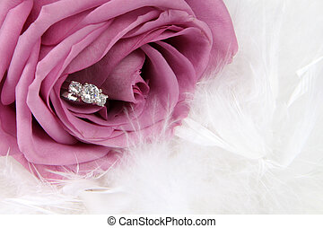 Ring in Rose - Wedding Ring in Rose, Will you marry me