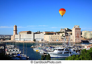 The Fort Saint-Jean in Marseille - The Fort Saint-Jean in...
