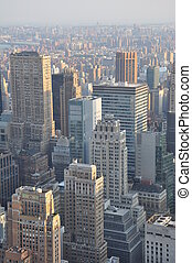 View of New York City from the Top of the Rock