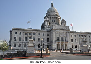 Rhode Island State Capitol in Providence, RI