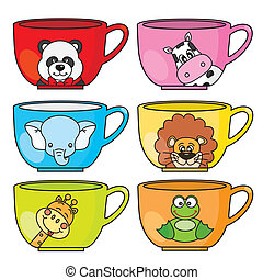 cup animals