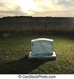 基石, 鄉村, 墳墓